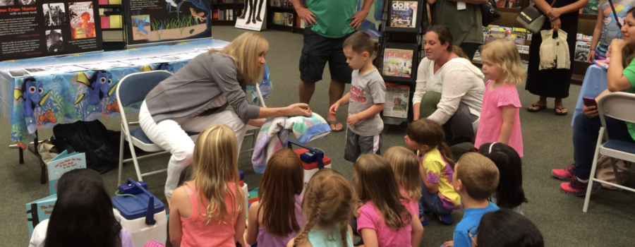 """Finding Dory"" Event at Barnes & Noble is a Hit!"