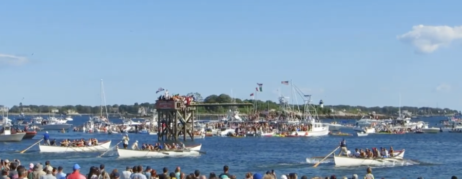 The Seine Boat Race in Gloucester 2017