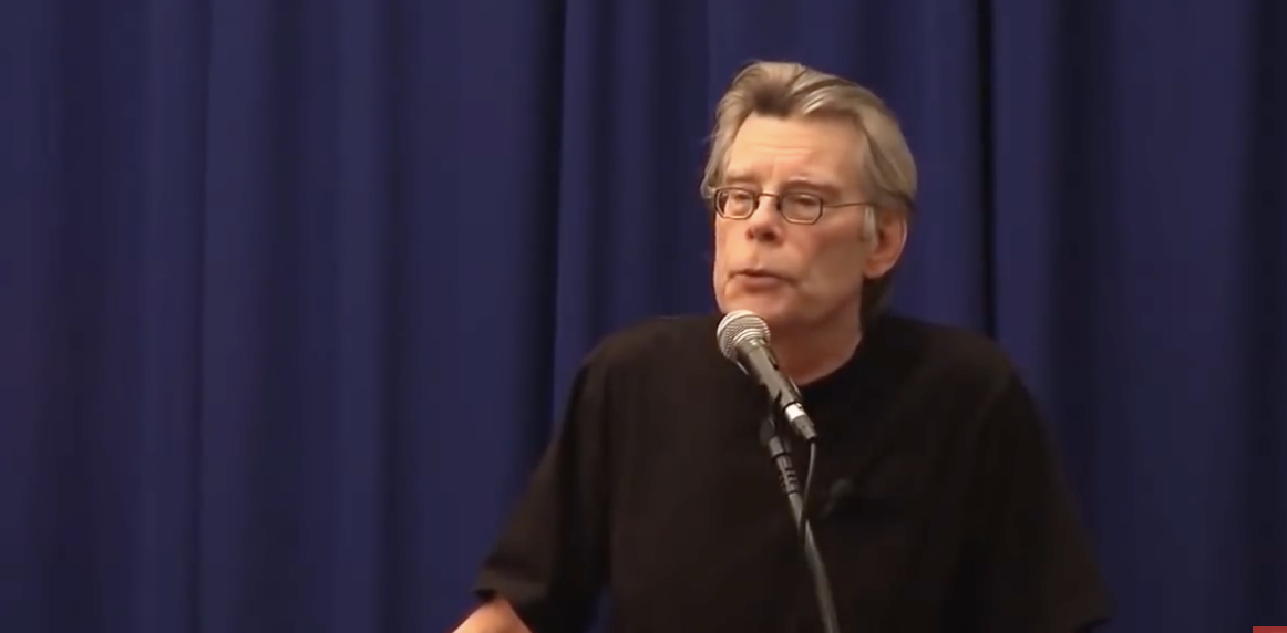 Stephen King Speaks About His Craft & Life as a Best Selling Author