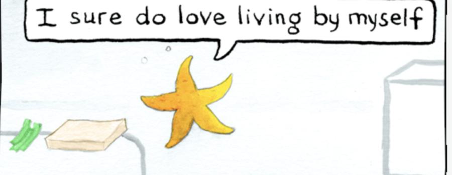 A Sea Star Comic